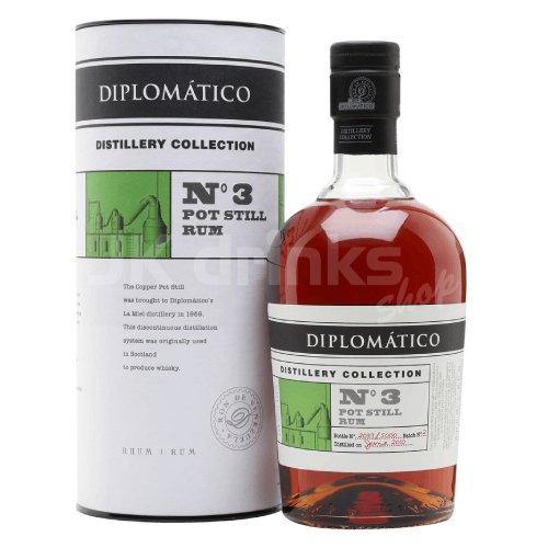 Diplomatico Single Pot Still No.3 0,7l 47%