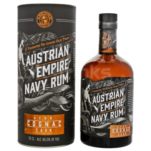 Austrian Empire Navy Double Cask Cognac 0,7l 46,5%