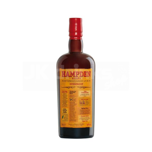 Hampden Estate Overproof 0,7l 60%